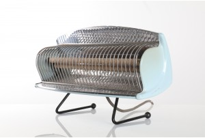 Mid-Century Atomic Heater