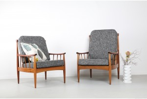 Pair of DON 'Greaves & Thomas' Armchairs