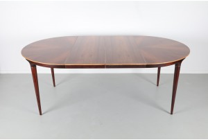 Mid-Century Danish Rosewood Dining Table