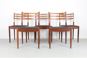 Eight G-Plan Fresco Dining Chairs