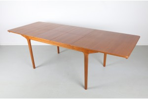 McIntosh Double Extension Teak Dining Table