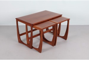 G-Plan Large Sculpted Nesting Tables