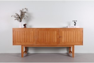Kurt Ostervig Linear Oak Sideboard