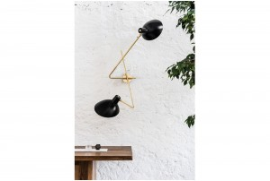 Astep 'VV Cinquanta' Twin Wall Lamp by Vittoriano Viganò