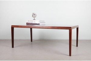 Danish Rosewood and Tile Coffee Table