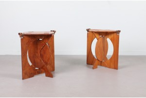 Rooster Stools – Barry Simpson for Dirt Road