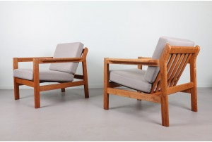 Pair of Børge Mogensen 'Model 227' Armchairs