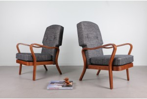Rare Post-War British 'Tecta' Armchairs