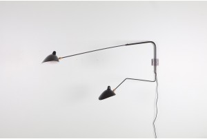 Serge Mouille Double Wall Light