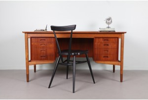 Svend Aage Madsen Teak Executive Desk