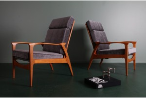 Pair of Don Rex Armchairs