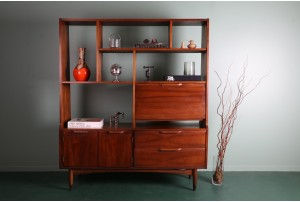 American of Martinsville Freestanding Wall Unit