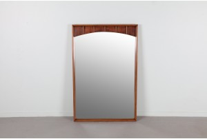 Large American Kent Coffey Sculpted Mirror