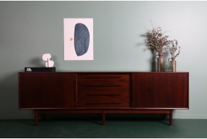 Danish Linear Rosewood Sideboard