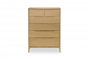 Ercol 'Rimini' 6 Drawer Tall Wide