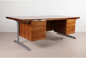 Deluxe Rosewood Executive Desk by Marius Byrialsen
