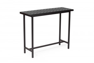 Warm Nordic 'Herringbone Tile' Console Table
