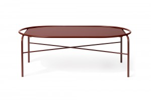 Warm Nordic Oval 'Secant' Table