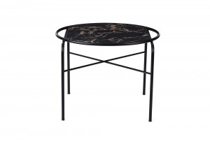 Warm Nordic Round 'Secant' Table