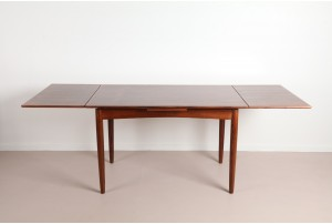 Compact Danish Rosewood Dining Table