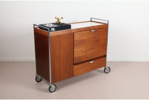 Rare George Nelson Bar Cart