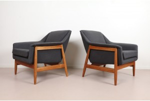 Pair of 'Norse' Armchairs by Gerhard Berg