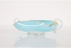 Fratelli Toso Swirl Bowl with Handles