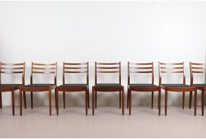 Eight G-Plan 'Fresco' Dining Chairs
