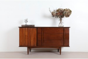 Compact American Sideboard by United