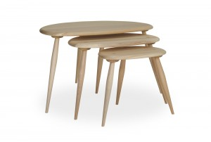 Ercol 'Originals' Pebble Nesting Tables