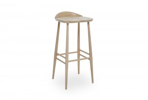 Ercol 'Originals' Bar Stool with Back