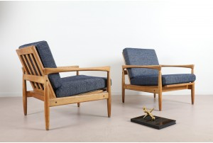 Pair of Erik Wörtz 'Kolding' Armchairs