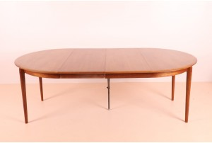 Rare Kai Lyngfeldt Larsen Extension Dining Table