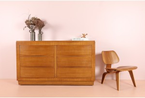 R-Way Furniture Co Double Chest of Drawers