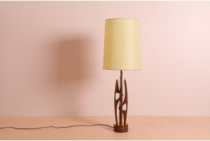 Epic American Biomorphic Table Lamp