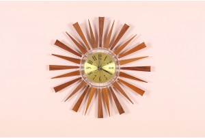Westclox Twin Ray Starburst Clock