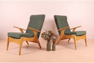 Pair of Airest Rocket Style Armchairs