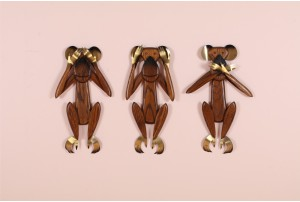 Three Wise Monkeys by Masketeers