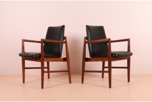 Pair of Joe Backhouse Occasional Chairs by Backhouse