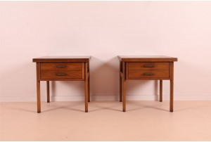 Pair of Lane 'Virginia Maid' Bedside Tables