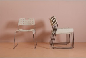 Six Rodney Kinsman 'OMKStak' Chairs