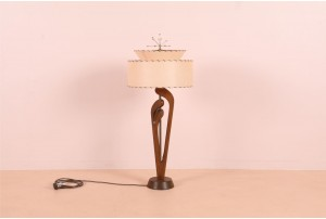 Atomic American Table Lamp
