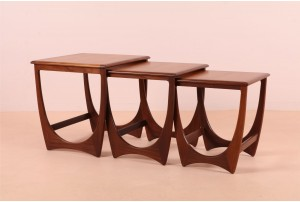 G-Plan 'Brasilia' Arched Nesting Tables