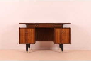 G-Plan Tola and Black Dressing Table / Desk