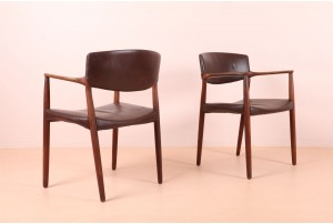 Pair of Larsen & Bender Madsen Occasional Chairs