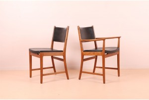 Four Kai Lyngfeldt Larsen Dining Chairs