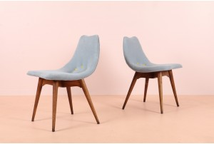 Grant Featherston D350 Dining Chairs
