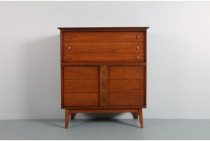 Bassett Furniture 'Mayan Collection' Highboy Drawers