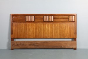 Lane Brutalist King-Sized Headboard