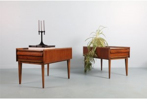 Pair of Lane 'First Edition' Side Tables